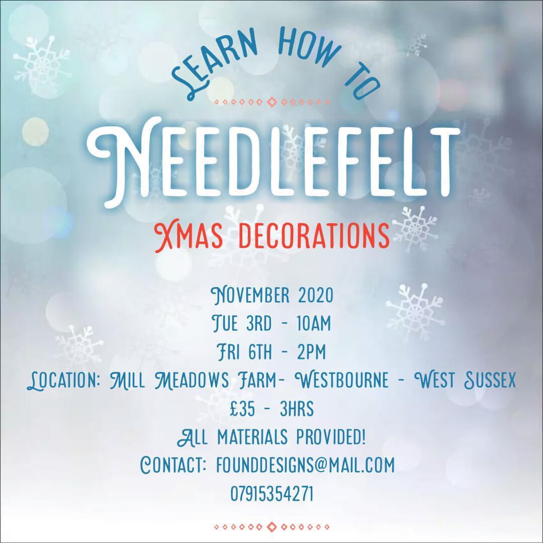 needle felt classes