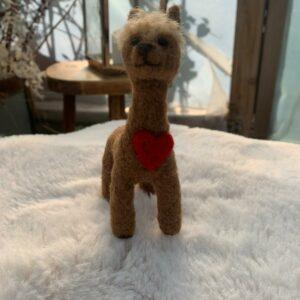 alpaca-wool-felted-heart-brown